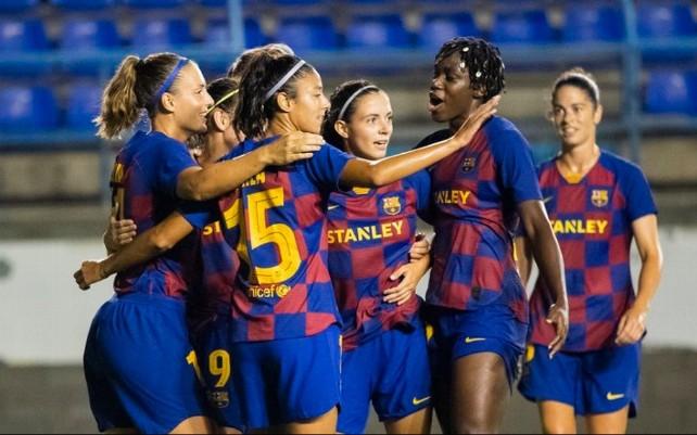 El Barça femenino