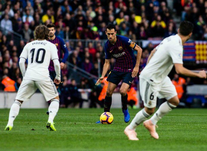 Busquets contra el Madrid