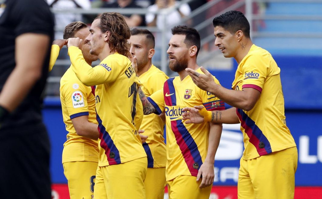 El Barça ganó con contundencia al Eibar