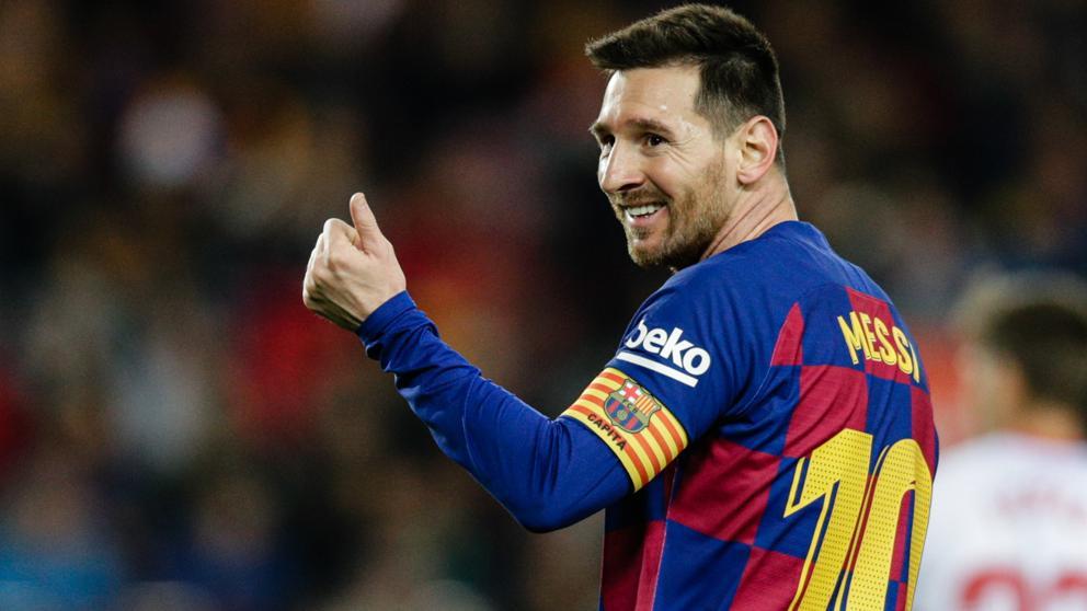 Messi, en el Barça-Mallorca del pasado sábado