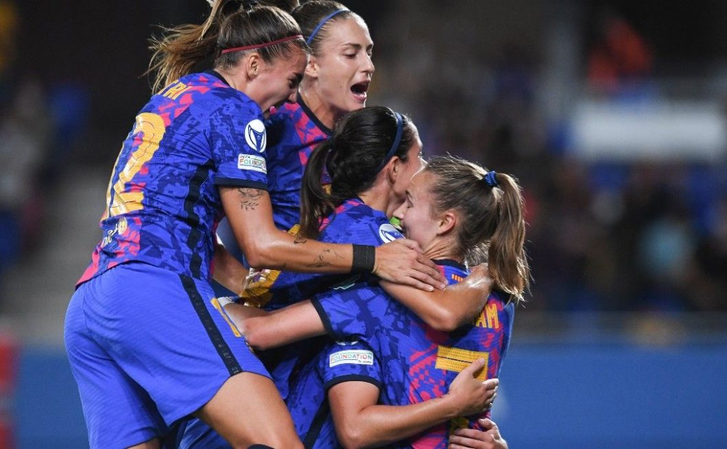El Barça femenino ha ganado